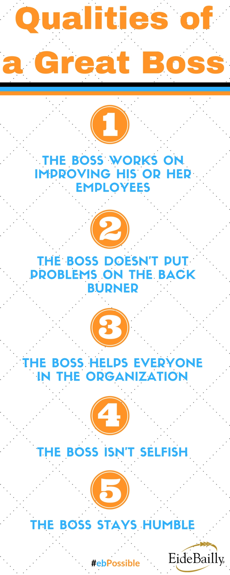 Qualities of a Great Boss